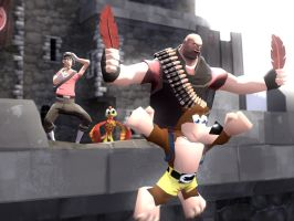 HEAVY IS KAZOOIE by GlitchyProductions