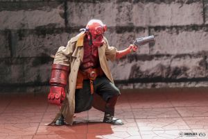Hellboy Cosplay Comicpalooza Photos by DJdrummer