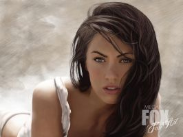 Megan Fox Fan Art by taylorbuck