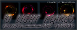 Light Flares Pack 4 by silklungs