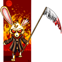 Year of The Fucking Rabbit by KatnippD