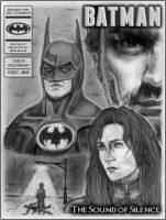 Batman: Sound of Silence -- Mock Cover by dragonheart