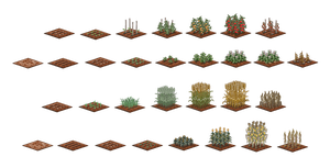 plants growth stages by eatmemtfckr
