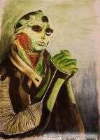 Thane Krios by wakDoOm
