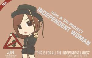 miss A Min I Don't Need A Man Chibi by jinsuke04