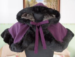 Victorian winter cape by Silmeven by Silmeven