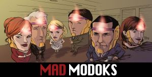Mad MODOKs by thecreatorhd