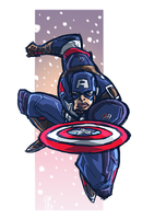 Captain America Age of Ultron Style by ElOctopodo