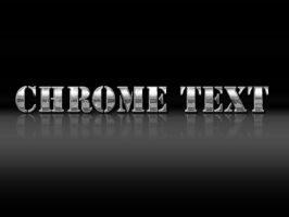 chrome text action by verndewd