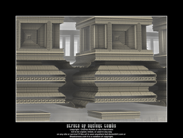 strata of ancient tombs by fraterchaos