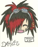 my Dahvie ATC Card by AruruusLuna