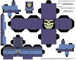 Cubee-Skeletor '200X Ver' 1of2 by CyberDrone
