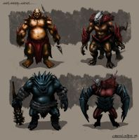 Brutes Concept by cjcenteno