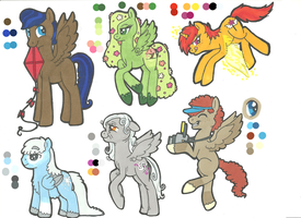 MLP:FIM Adoptables: Fliers. by Kayla-san