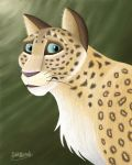 Persian Leopard by tuftedpuffin