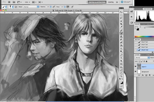 tiger and bunny wip by Brilcrist