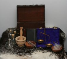 Larp Alchemy/Apothecary Kit by Versalla