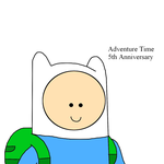 Adventure Time 5th anniversary promo by SuperMarcosLucky96