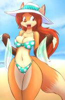 Summer Vixen by tgwonder