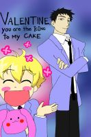 Ouran Valentine's Day Card by AuthenticGreenEyes