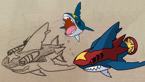 Mega Sharpedo Idea by MunchingOrange