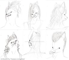 Hairstyles by remanlongtail