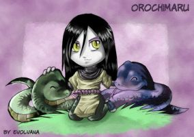 Orochimaru wa kawaii by Evolvana
