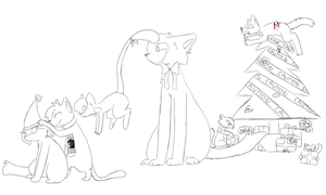 Merry fucking Christmas [WIP] by Laylie-Chan