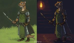 Mossflower - Kotir uniforms by Kobb