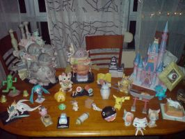 Papercraft collection - 2008 by Yuki-Myst