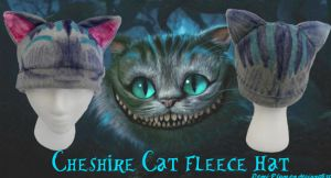 Cheshire Cat Fleece Hat by Demi-Plum