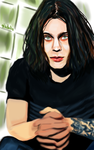Ville Valo by fullcolour-canvas