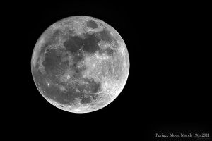 Perigee Moon by cycoze