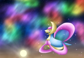 The Evening of Cresselia by Rose-Beuty