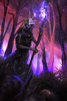 aldrich chillin in the woods by h1fey