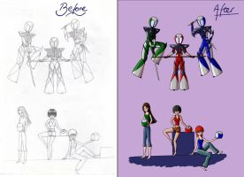Then and Now by Karete