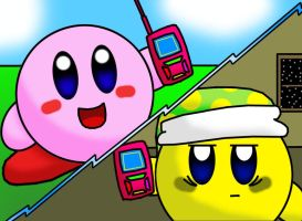 Kirby's Cell Phone by spacepig22