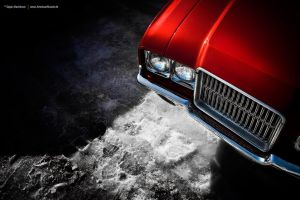 1971 Oldsmobile Cutlass Supreme Detail by AmericanMuscle