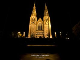 St Patrick's Cathedral by Siilver1984