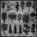 Trees Brushes Set 2 by Falln-Brushes