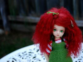 What's Red, Green and Cute? by KateWonder