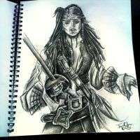 Captain Jack Sparrow by emmanuel7