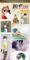 Nagi's 2014 Summary of Art by NagisaFelicia