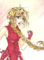 Art trade - Street Fighter Origins OC Camilla by yoolin