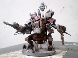 Ork Deff Dread by Punk-Noir