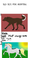 Old OC's for adoption -points- by May-Ly