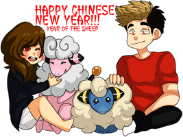 CHINESE NEW YEAR by PluePop