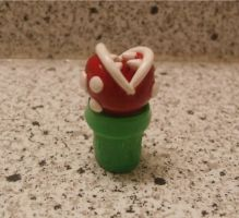 Piranha Plant Ear Gauges by Kexita