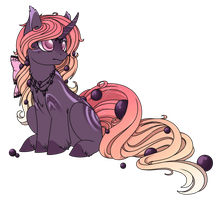 Black Pearl Pony Auction  (CLOSED) by Crystal-Comb