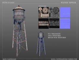 Dino D Day: Water Tower by Daowg